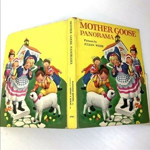 Other - Mother Goose Panorama Children's Book Approx 6 Ft